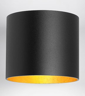 TULA APPLIQUE NERO ORO LED