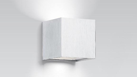 Cubu led applique xal illuminazione roma tulli luce