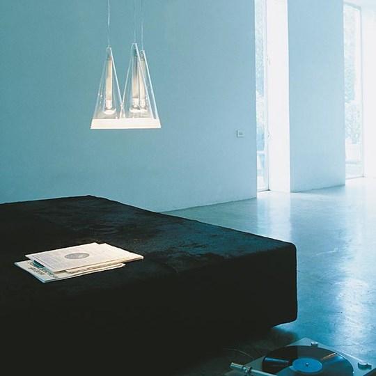 Fucsia 3 sospensione flos illuminazione roma tulli luce for Flos aim 3 luci prezzo