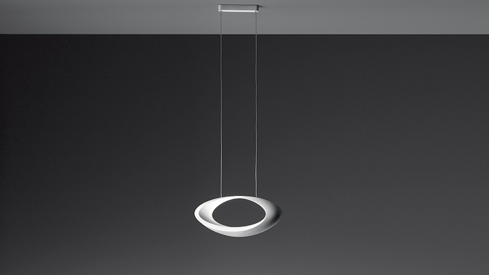 Cabildo sospensione led artemide illuminazione roma for Artemide lampade roma