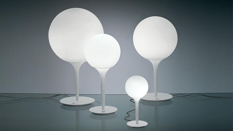 Castore tavolo artemide illuminazione roma tulli luce