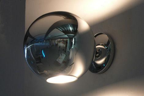 Globo di luce applique fontana arte fuori produzione illuminazione